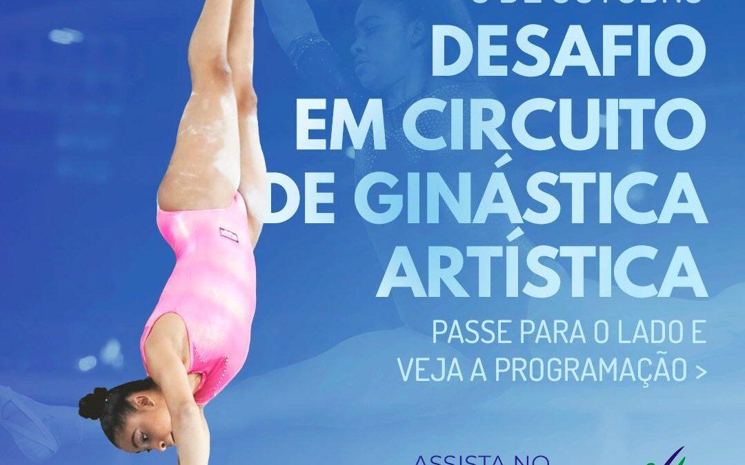 ATLETAS DO CEMIC PARTICIPAM DO DESAFIO EM CIRCUITO DE GINÁSTICA ARTÍSTICA